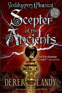 Skulduggery pleasant scepter of the ancients